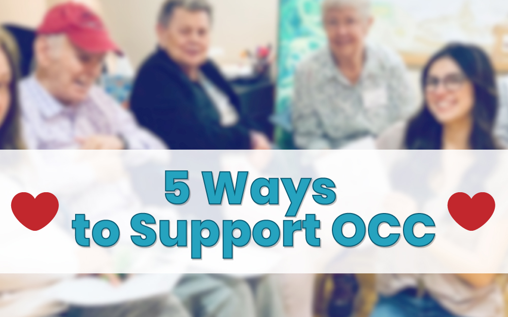 5 Easy Ways You Can Help Support Oakwood Creative Care