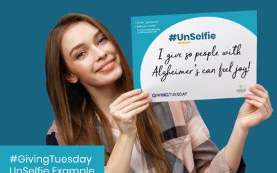 Take your #GivingTuesday UN-Selfie!